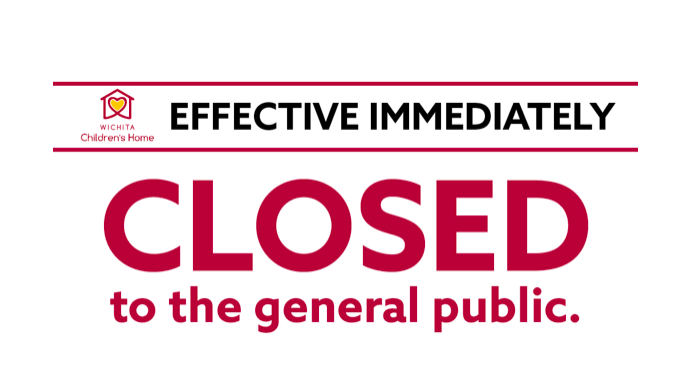 WCH CLOSED TO THE GENERAL PUBLIC