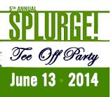 SPLURGE! Tee Off Party